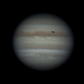 jupiter and Io Transit - May 23, 2018 (Deconvolution Applied)