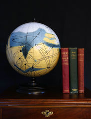 Globe with Lowell Books
