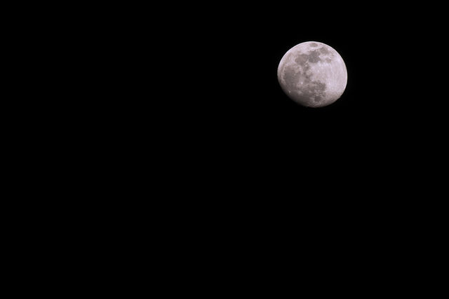 Almost Full Moon Phase