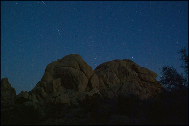 Orion Rising - Joshua Tree