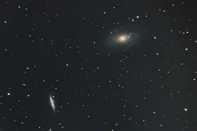 M81 Bode's Galaxy and M82 Cigar Galaxy