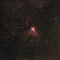 M17 The Omega (Swan) Nebula - 8/6/2016
