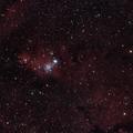 """NGC2264 """"Cone Nebula and Christmas Tree Cluster"""""""