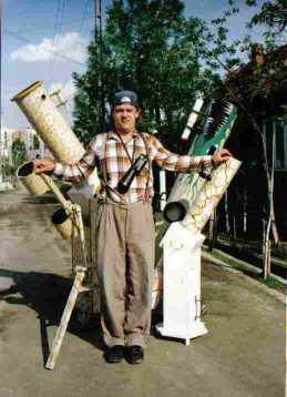 Attila and his telescopes