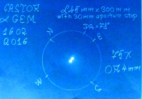 Castor L 30 Mm 16.02.16