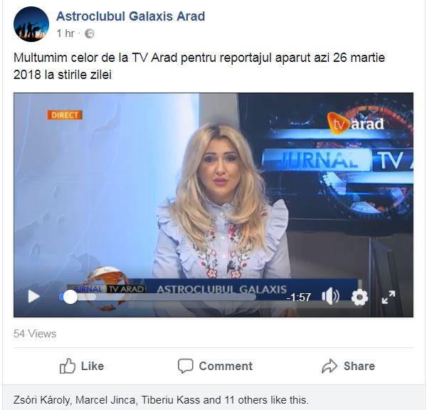 Galaxis  TV Arad