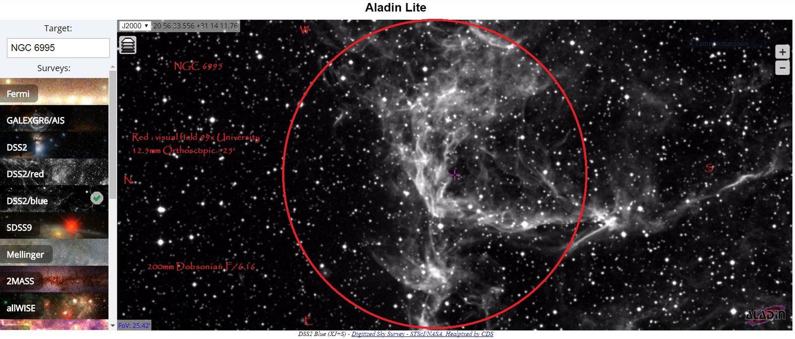 Veil NGC 6995