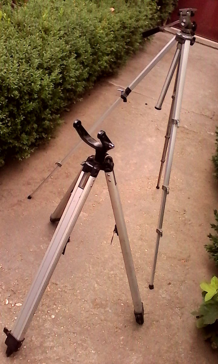 Two tripods