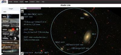 M81 M82 NGC 3077