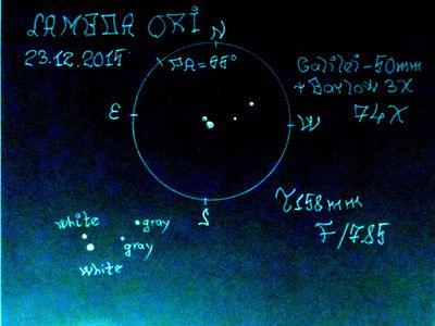 Lambda Ori 23.12.15 Hind