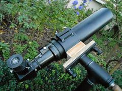 RFT 90mm x 600 mm on ''Penelopa'' 1,5 '' pipe-mount