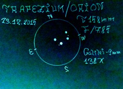 Trapezium Ori 23.12.15 Hind