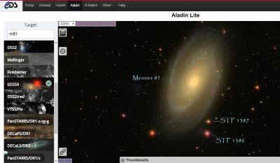 M81 STF 1386 STF1387