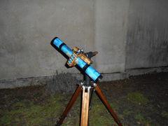 9x Keplerian 15x330mm refractor on DIY  ''Penelopa'' pipe-mount