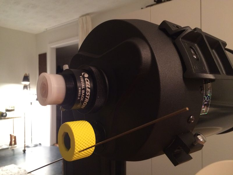 Fine focuser knob for C6 SCT - 3D prints - Photo Gallery - Cloudy Nights