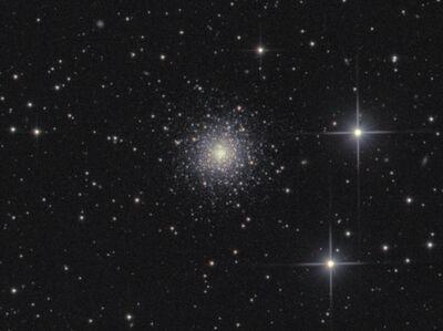 NGC6229 globular cluster in Hercules