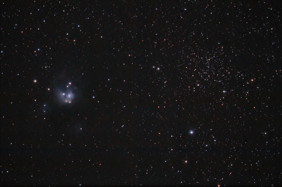 NGC 7129 & 7142