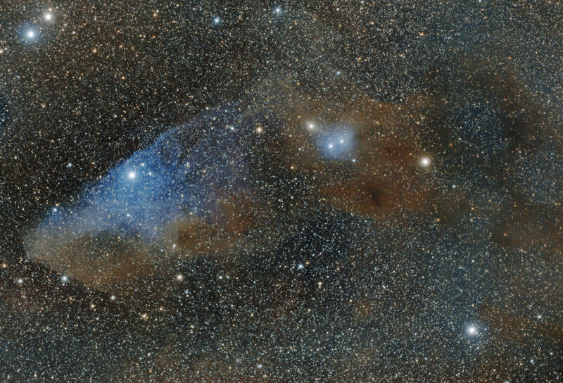 IC 4592 - The Blue Horsehead