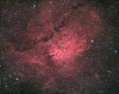 NGC 6820-23 HaRGB