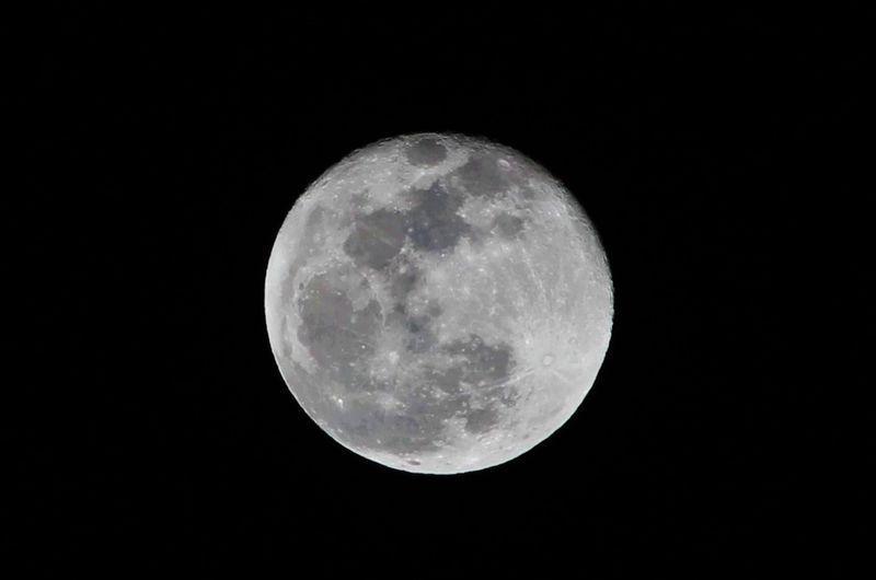 Two-days-past-full moon (24 February 2016)