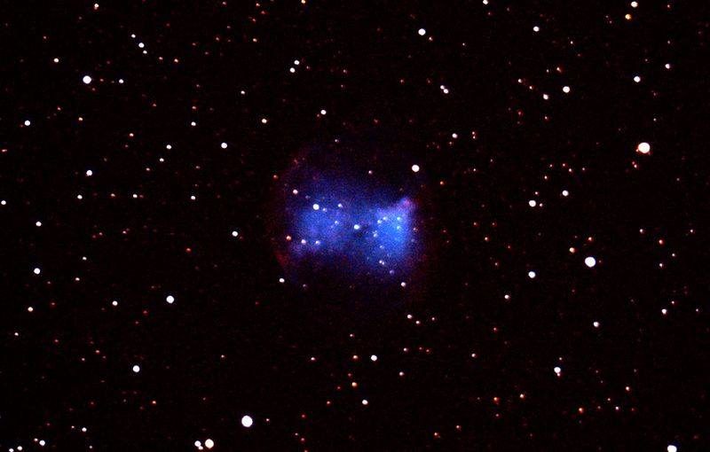 dumbbell nebula colors - photo #29