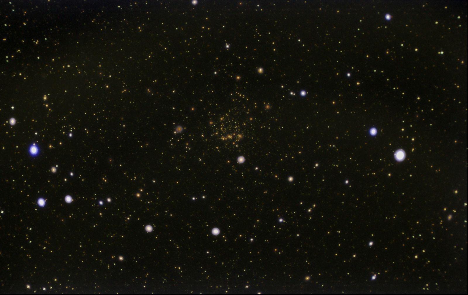 Ngc 7789 23x8s 340 gain Orion 50mm Guidescpe  GradientXterm, curves & levels in photoshop