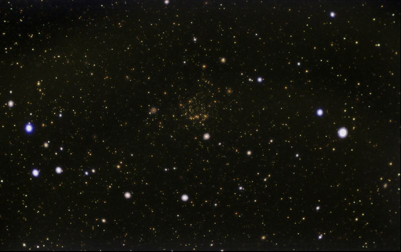 Ngc 7789 23x8s 340 gain Orion 50mm Guidescpe  GradientXterm, curves & levels in photoshop