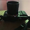 Olympus E-PL6 with T-Adapter