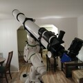 New EQ6 R Mount with Sky Rover 102mm F/11 Refractor