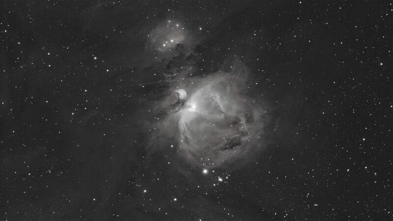 Orion Nebula Ha