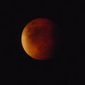 """Supermoon"" Total Lunar Eclipse @ Totality (2015) - True Color/Unaltered"
