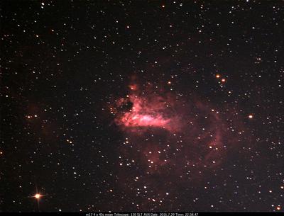 M17 4x45s Celestron 130 SLT on an AVX mount  Ultrastar-C w/Astronomik CLS CCD filter