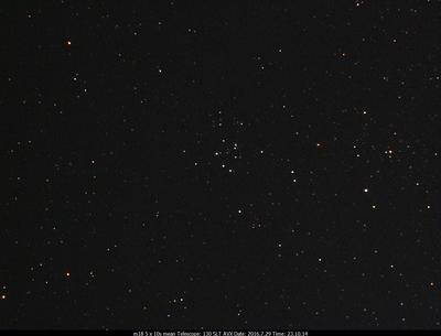 M18 6x10s Celestron 130 SLT on an AVX mount  Ultrastar-C w/Astronomik CLS CCD filter