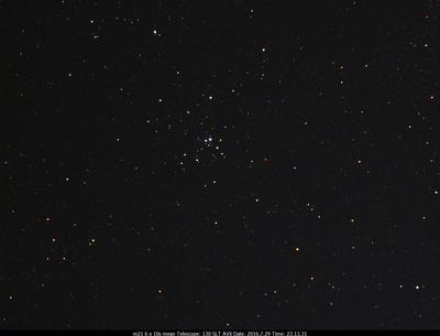 M21 7x10s Celestron 130 SLT on an AVX mount  Ultrastar-C w/Astronomik CLS CCD filter