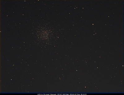 M55 130SLT on AVX w/Optolong CLS CCD filter (6x15s) 2016.8.10 00.10.53