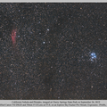 From the California Nebula to the Pleiades