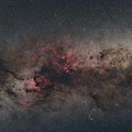 Cygnus Widefield - Canon 6Dm2 and 50mm lens