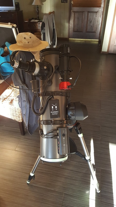 Celestron 130SLT Video Astronomy Setup