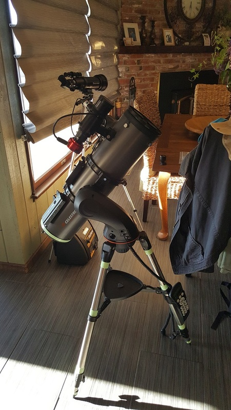 Celestron 130 SLT Video Astronomy Setup