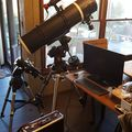 "Orion Skyview Pro 8"" on AVX and Celestron 70mm Travel Scope on SLT mount"