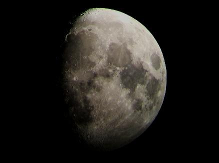 Gibbous Moon 12 9 2016 A