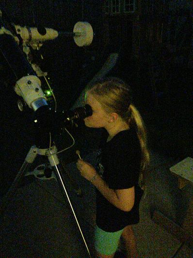 Hannah observing double stars C