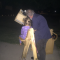 Carrie viewing Saturn 7 17 2017 D