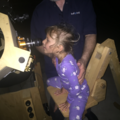Carrie viewing Saturn 7 17 2017 G