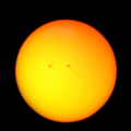 Sunspots 9 4 2017 Enhanced