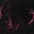 Veil Nebula using D5300A with LPS-D1 filter from 2017 0721