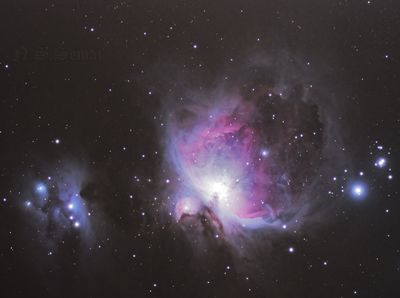 AT115EDT First light M42