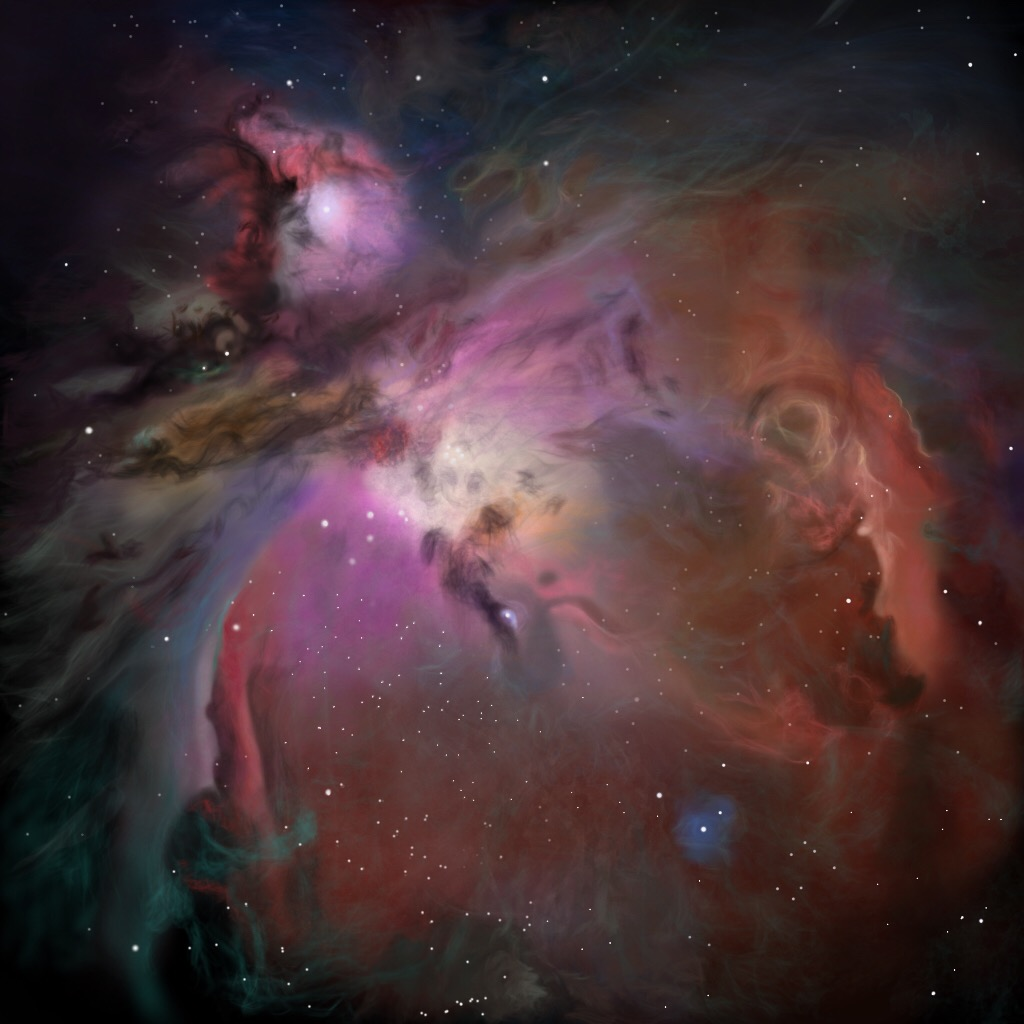 Orion Nebula - Paintings - Photo Gallery - Cloudy Nights