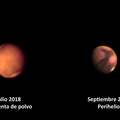 Mars during and after the dust storm