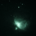 "M42/M43, a little blurry but showing beautiful ""cloudy"" nebulosity"